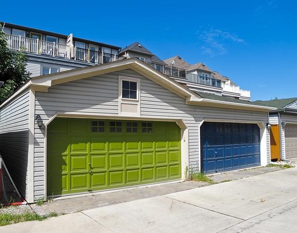 Výrazné garážové brány
